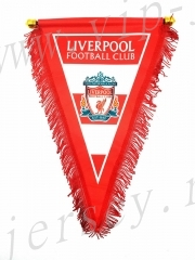 Liverpool Red Triangle Team Flag