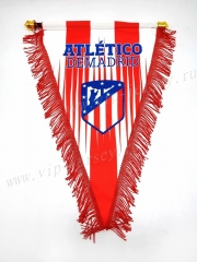 Atletico Madrid Red Triangle Team Flag