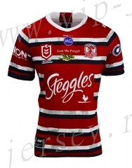 Commemorative Edition 2020 Sydney Roosters Red Rugby Shirt