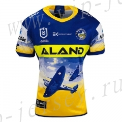 Commemorative Edition 2020 Parramatta Yellow&Blue Rugby Shirt