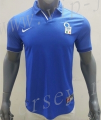 Retro Version 1998 Italy Home Blue Thailand Soccer Jersey AAA-416