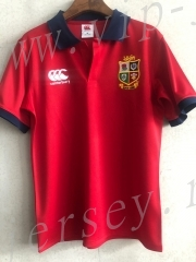 2020-2021 Lion Red Training Rugby Shirt