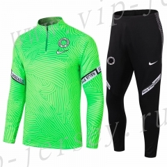 2020-2021 Nigeria Green Thailand Soccer Tracksuit-411