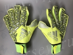 A1 Adidas Green Goalkeeper Gloves