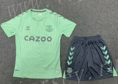 2020-2021 Everton 2nd Away Green Soccer Unifrom-GB