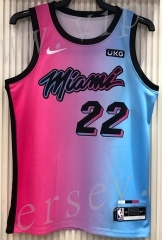 21 season Miami Heat City Edition Gradient #22 NBA Jersey-311