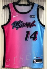 21 season Miami Heat City Edition Gradient #14 NBA Jersey-311