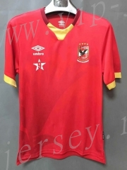 Player version 2021-2022 Egypt Home Red Thailand Soccer Jersey AAA-XY