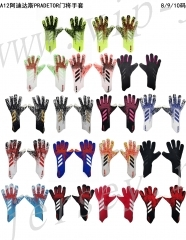 A12 Adidas PRADETOR Multiple Colour  Goalkeeper Gloves