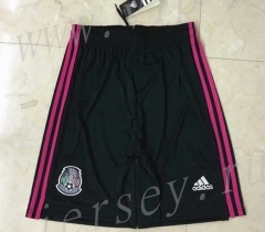 2021-2022 Mexico Home Black Thailand Soccer Shorts