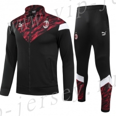 2021-2022 AC Milan Black&Red Thailand Soccer Jacket Uniform-GDP