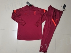 2021-2022 Liverpool  Red Kids/Youth Soccer Tracksuit-GDP