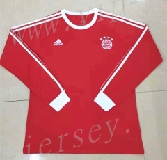 Retro version Bayern München Red Thailand LS Soccer Jersey AAA-818