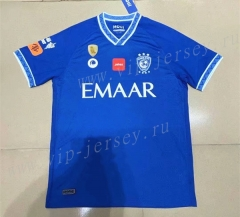 2021-2022  Al Hilal SFC Home Blue Thailand Soccer Jersey AAA-2027