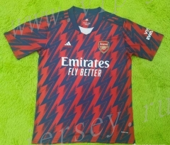 2021-2022 Arsenal Home Red&Blue Thailand Soccer Jersey AAA-2027